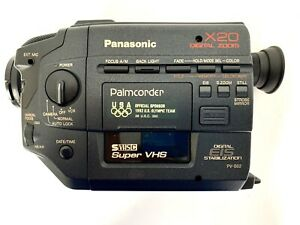 Panasonic PV-S62 Mini DV Camcorder/Palmcorder X20 Digital Zoom w/Case