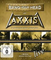 AXXIS - BANG YOUR HEAD WITH AXXIS (BLURAY)   BLU-RAY NEUF