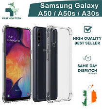 Samsung Galaxy A50 A50s A30s Case Cover ShockProof Soft Bumper Clear Silicone