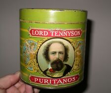 More details for vintage lord tennyson cigar tobacco tin