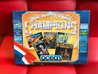 Sinclair ZX Spectrum +3 Disk - WE ARE THE CHAMPIONS - Ocean - # VERY RARE #