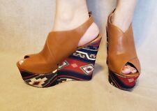 1a61fcd3086 Steve Madden Elissaa Platform Wedge Sandals Women s Wedges Heels Size 10M 10