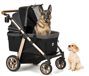 Pet Rover Premium Super-Size Stroller SUV for Small/Medium/Large/X-Large Dogs