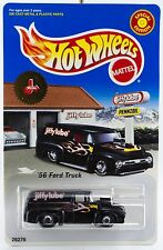 Hot Wheels Promo Jiffy Lube '56 Ford Truck Black NEW 1999 1/64 Special Edition