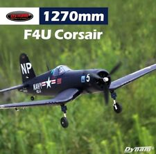 Dynam RC Airplane Warbirds F4U Corsair 1270mm - PNP  4S with flaps