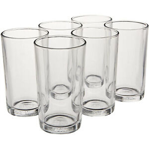 Duralex Unie 7 Ounce Clear Glass Tumbler Drinking Glasses, Set of 6 (Open Box)