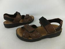 RIEKER - bequeme Sandale - 38 - braun - Klettverschluss - Outdoor Sandalen