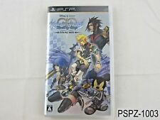 Kingdom Hearts Birth by Sleep Final Mix Japanese Import PSP Portable US Seller A
