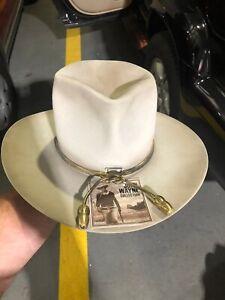 "Stetson John Wayne Fort Silverbelly hat 7 3/8"" (large)"