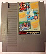 Nintendo NES Super MarioBros. Duck Hunt World Class Track Meet Video Game