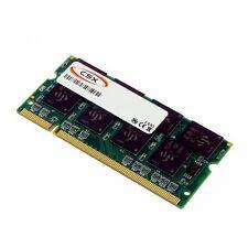 CSX Memoria RAM compatible con Transcend ts128msd64v6a, 1GB