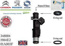 Petrol Fuel Injector Repairing Kit O-Ring Peugeot Citroen 01F003A 1984E2 Valeo