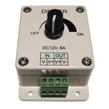 LED dimmer for dimming eg for SMD 12V DC / 8A / 96W strip of LEDs PWM
