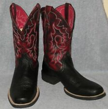 Ariat Heritage Square Toe Reinsman Western Boots Size 8.5 D - Model 10009593