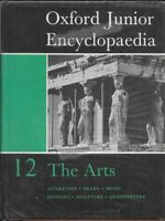 VINTAGE BOOK: OXFORD JUNIOR ENCYCLOPAEDIA 12 THE ARTS (1964) FAST WITH FREE P&P