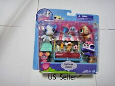 Littlest Pet Shop Ice Cream Frenzy Cow Guinea Pig Mouse Us Seller