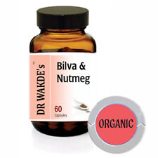 DR WAKDE'S Bilva & Nutmeg Capsules I FREE SHIPPING I 100% Natural Herbal Supplem