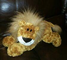 """22"""" LARGE JUMBO FLOPPY GUND LEONARDO LION #4754 PLUSH STUFFED JUNGLE KING TOY"""