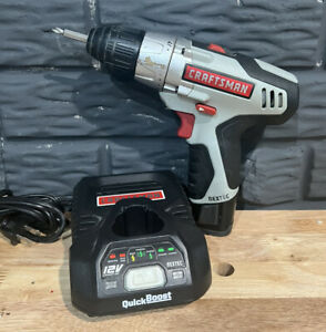 """Craftsman Nextec 12V Cordless 3/8"""" Drill Driver 320.10003 with Battery & Charger"""