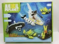 New Animal Planet Building Blocks OCEAN EXPLORATION  222 PCS. Submarine Turtles