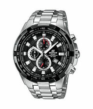 Casio Armbanduhren aus Edelstahl mit Silber-Armband