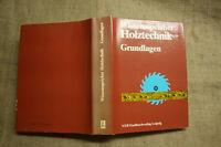 FB Holztechnik, Vorrichtungen, Holzbearbeitung, Tischler, Schreiner, DDR 1988