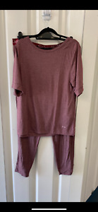 Calvin Klein Plum Colour Pyjamas  Size XL