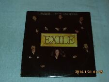 Mixed Emotions By Exile (vinyl 1978 Warner Bros) Original Record Album