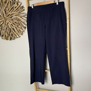 Millers Size 12 M Navy Blue Stretch Dress Pants Workwear Corporate