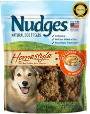 New listing Nudges Homestyle Chicken Pot Pie Dog Treats, 16 oz