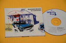 CD (NO LP ) RADIOHEAD NO SURPRISES ORIG 1997 DIGIPACK EX