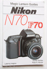 Nikon N70 F70 35mm Camera Magic Lantern Guide Book 1995  - English - USED