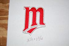 "Minnesota Twins 2 1/8"" Patch 1987-2012 Cap Logo Baseball"