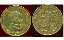 KENYA 10 cent 1989
