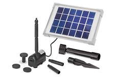 Solar Teichpumpe Rimini S 2W 175l/h Solarpumpe Gartenteich Teich esotec 101701