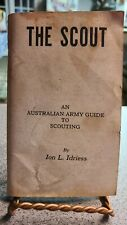 1977 Australian Army Guide To Scouting Booklet. The Scout. Military collectible