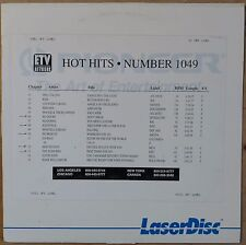 ETV Network HOT HITS 1049 Laserdisc Music Video NO DOUBT The Wonders New Edition