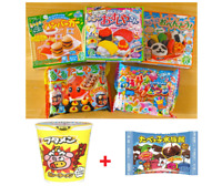 5 KRACIE POPIN COOKIN KITS DIY Japanese Candy Sweets Set Japan