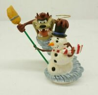 Taz The Snowman Wizard Christmas Ornament Looney Tunes Hallmark Keepsake