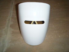 ROBOT WELDER SOLID WHITE MASK WITH TINTED GLASSES GREAT FOR HALLOWEEN NEVER USED