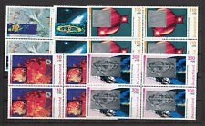 5960 ) Germany 1999 - Charity Stamps - Space to 5 Stamp blocks of four MNH / **