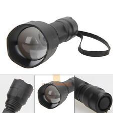 Zoom 38mm Lens UF-1505 850nm Night Vision IR Infrared LED Flashlight Torch Lamp