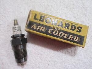 vintage Leonard's #7 spark plug lot A