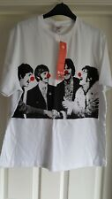 THE BEATLES Official Red Nose Day T-shirt (Medium) Stella McCartney