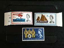 GB 1963 Lifeboat Phosphor set 639p-41p  Mint never hinged.