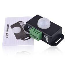 DC 12V-24V 8A Automatic Infrared PIR Motion Sensor Timer Switch For LED light ES