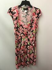 32d57a49f783 Connected Floral Regular Size Short Sleeve Dresses for Women