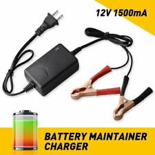 Car Battery Charger Maintainer 12V Portable Auto Trickle Boat Motorcycle EOA