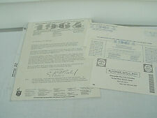 1964 Letterhead--Metropolitan New York Committee for the 1964 Olympics--Original