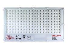 FARO LED SMD CON OTTICHE CIRCOLARI SLIM 200W ESTERNO IP66 - Luce Fredda 6000k